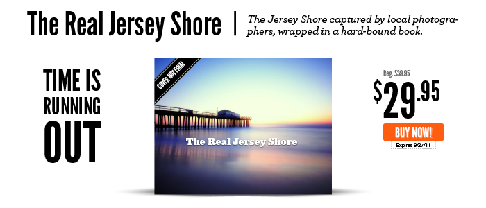 The Real Jersey Shore book